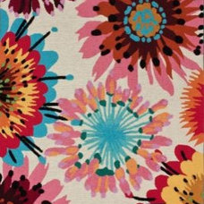 Rugs Floral Watercolors
