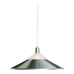 Dolan Designs - Dolan Designs 100-09 Pinnacle Satin Nickel Pendant - Dolan Designs 100-05 Pinnacle White Pendant