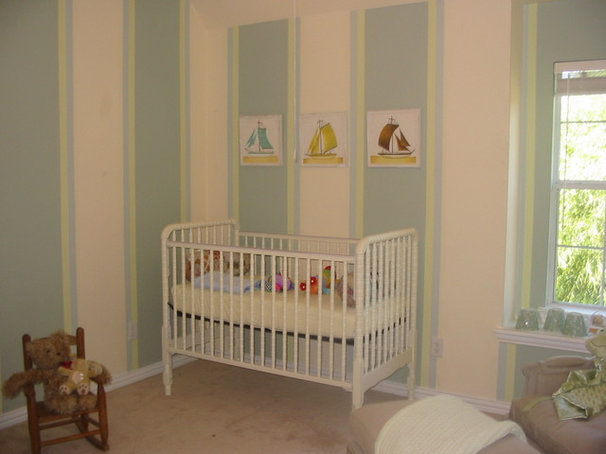 Traditional Nursery by Girl Meets Lake