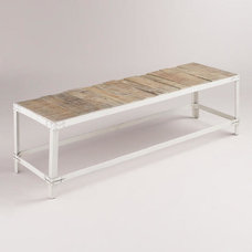 Contemporary Benches by Cost Plus World Market