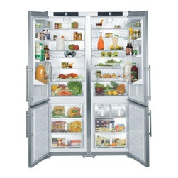 "Liebherr - SBS-26S1 47"" 26 Cu. Ft. Freestanding Side-By-Side Refrigerator  Intelligence Sen - The 48 freestanding side-by-side refrigerator  freezer is designed with space and ease-of-use in mind Both compartments feature adjustable cooling circuits and with easy-to-reach heights and transparent deep drawers they offer clear views of their co..."