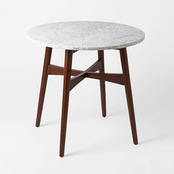 Reeve Midcentury Bistro Table - I think I found the perfect breakfast nook table. Sitting around this and drinking my morning coffee would be a dream come true.