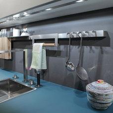Contemporary Kitchen Sinks by Belle Design Build