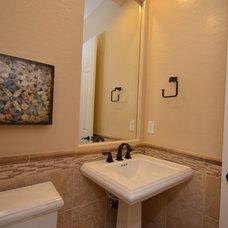 Traditional Powder Room by Shea Homes - Arizona