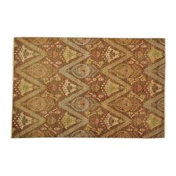 1800GetARug - Ikat Uzbek Oriental Rug Hand Knotted Rug Geometric Design Sh13059 - About Tribal & Geometric