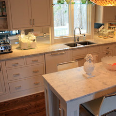 contemporary kitchen countertops by The Stone Studio