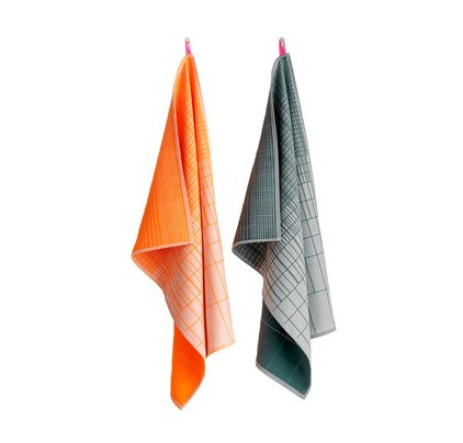 modern dishtowels by A+R