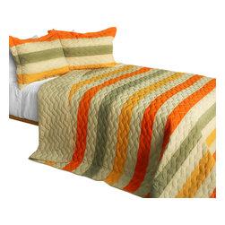 Blancho Bedding Secret Angel 3pc Patchwork Quilt Set