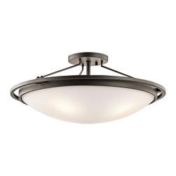 Kichler 4-Light Ceiling Light - Olde Bronze - Four Light Ceiling Light