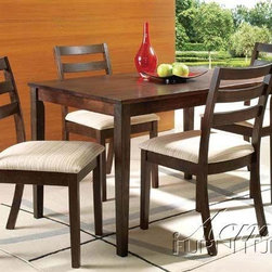 Acme Furniture - Tacoma Contemporary HardWood Espresso Dining Table - 00867 - Tacoma Collection Dining Table