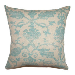 Pillow Collection - The Pillow Collection Kabala Ikat Pillow - Turquoise Multicolor - P18-42251-TURQ - Shop for Pillows from Hayneedle.com! Sometimes beauty comes from restraint and The Pillow Collection Kabala Ikat Pillow - Turquoise provides a stunning illustration of that principle. Made of 100% cotton this gorgeous square pillow features a plush 95/5 feather/down insert for a luxuriously soft feeling. The beautiful wash of turquoise throughout the elegant Ikat design makes this the perfect accent to any room.About The Pillow CollectionIdentical twin brothers Adam and Kyle started The Pillow Collection with a simple objective. They wanted to create an extensive selection of beautiful and affordable throw pillows. Their father is a renowned interior designer and they developed a deep appreciation of style from him. They hand select all fabrics to find the perfect cottons linens damasks and silks in a variety of colors patterns and designs. Standard features include hidden full-length zippers and luxurious high polyester fiber or down blended inserts. At The Pillow Collection they know that a throw pillow makes a room.