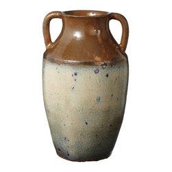 Lazy Susan - Ochre Olive Jar - -Handcrafted