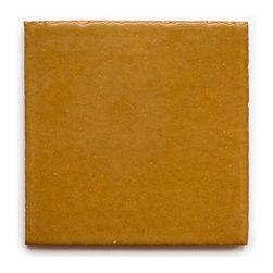 1003 Sun Yellow (Crackle and Glossy Finish) - Handmade Ceramic Tile - Handmade Ceramic Tile