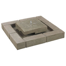 Contemporary Outdoor Fountains And Ponds by Overstock.com