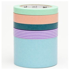 Home Decor Washi Masking Tape by mt, 5 pieces