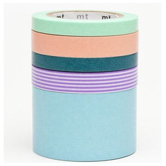 accessories and decor Washi Masking Tape by mt, 5 pieces