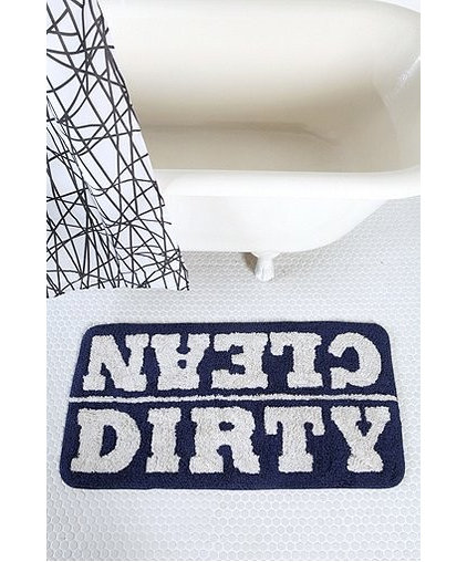 Eclectic Bath Mats by Urban Outfitters