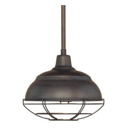 Millennium Lighting - Millennium Lighting 5301 Neo-Industrial 1 Light Mini Pendant - Features: