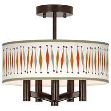 Midcentury Flush-mount Ceiling Lighting by Lamps Plus