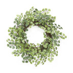 Home Inspirations Maidenhair Fern Mini Wreath - This little fern wreath could be displayed all season long.