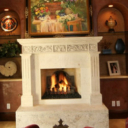 Stone Fireplace Mantels - Our new fireplace mantels are made from solid, natural limestone and provide the highest quality available. Visit neolithicdesign.com and browse through our vast selection. Call (949) 241-5458 for more information.