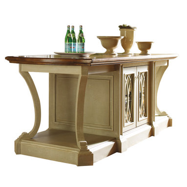 Habersham American Treasures Kitchen Island - ©Habersham Plantation Corporation.  All rights reserved in and to all proprietary furniture designs and marketing materials.