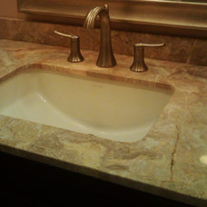 Traditional Bathroom by Saunders Design