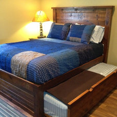 Rustic Beds by Roughing It In Style