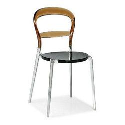 Calligaris | Wien Chair with Aluminum Legs -Open Box -