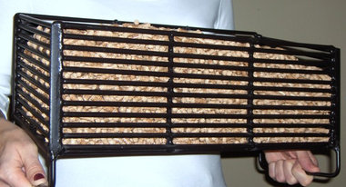Wood Pellet Basket