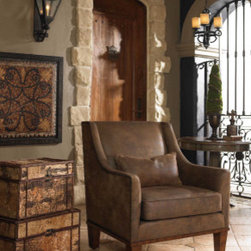 "23030 Clay, Armchair by uttermost - Get 10% discount on your first order. Coupon code: ""houzz"". Order today."