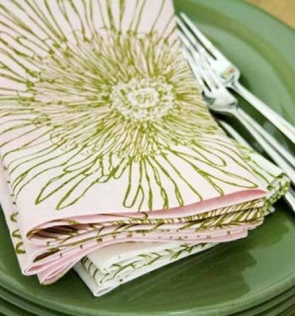 eclectic table linens by Design Public