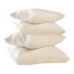 Handcrafted organic pillows - CozyPure