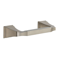 Delta Tissue Holder - 75150-SS - The clean lines and dramatic geometric forms of the Dryden Bath Collection are based on style cues from the Art Deco period.