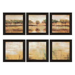 Paragon Art - Paragon Tiverton Lake ,Set of 6- Artwork - Tiverton Lake ,Set of 6        ,  Paragon Textured Print       Artist is Roth , Paragon has some of the finest designers in the home accessory industry. From industry veterans with an intimate knowledge of design, to new talent with an eye for the cutting edge, Paragon is poised to elevate wall decor to a new level of style.