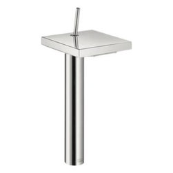 Axor - Hansgrohe - Axor Starck X Single Hole 12 Inch  - Chrome - 10080001 - The aesthetics of minimalism. In todays hectic world, people yearn more and more for tranquility and simplicity. The Axor Starck bathroom collection focuses on the basics, the enjoyment of water. The principle of reduction can be seen in the basic shapes and clear function. There are no distractions. The result: A timeless bathroom collection that will never go out of fashion. Like a fountain that springs up from the depths of the earth, we can draw from Axor Starck and refresh our bodies and minds in a bathroom that offers tranquility and relaxation.