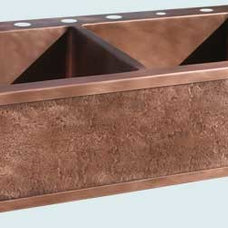 Farmhouse Kitchen Sinks by Handcrafted Metal