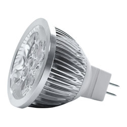 TorchStar - 12V 4W Dimmable MR16 LED Bulb GU5.3 Base, Warm White, 30 Degree - Overview
