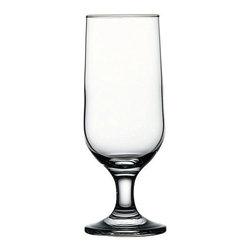 Hospitality Glass - 7H x 2.5T x 2 3/4B Capri 12 oz Beer Glasses 24 Ct - Capri 12 oz Beer