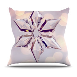 """Kess InHouse - Sylvia Cook """"Starbright"""" Holiday Throw Pillow (Outdoor, 16"""" x 16"""") - Decorate your backyard, patio or even take it on a picnic with the Kess Inhouse outdoor throw pillow! Complete your backyard by adding unique artwork, patterns, illustrations and colors! Be the envy of your neighbors and friends with this long lasting outdoor artistic and innovative pillow. These pillows are printed on both sides for added pizzazz!"""