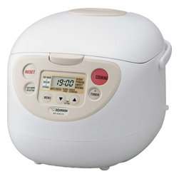 Zojirushi - Zojirushi NS-WAC18 Micom Fuzzy-Logic Rice Cooker, 10 cup - -Micro computerized Fuzzy logic technology