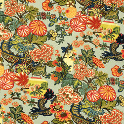 Chiang Mai Dragon - Chiang Mai Dragon is  by F Schumacher it is one of their best selling patterns.