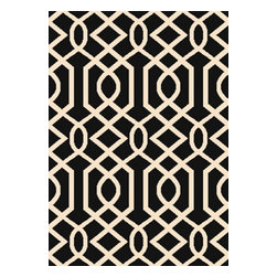 """Dynamic - Passion 9'2"""" x 12'10"""" Rectangle Contemporary - Passion 6203-190-Black 9.2x12.10"""
