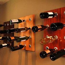 Modern Wine Racks by Bottle Bing / Wunderwall, LLC