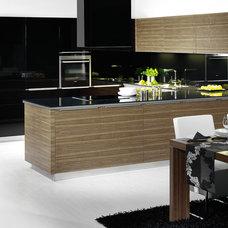 Modern Kitchen by Hans Krug Fine European Cabinetry