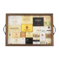 My Méz - Wine Label Tray/Wall Art - It's a tray; It's wall art. It's BOTH, and It's Made In the USA!