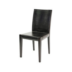Metro Dining Chair By Furniture Resource - Create the perfect dining space with the Metro Dining Chair in Brown. The sophisticated look of this modern dining chair works well in nearly any setting, whether hosting an important occasion or enjoying a quiet evening with the family.