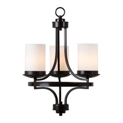 Yosemite Home Decor - Yosemite Home Decor 101-3U-ORB Chandelier - Add a modern stylish touch to your home with Yosemite Home Decor's Columbia Rock Collection. This piece puts lighting exactly where you need it. Simple and elegant, this is an ideal lighting fixture that adds a perfect finishing touch to your living room, dining room, or bedroom. This beautiful chandelier offers plenty of light to brighten your room. Yosemite Home Decor specializes in elegant and artistic home decor products, this lighting fixture exemplifies our approach. It's UL-rated, safe and easy to install, and makes an instant difference with quality materials and smart, subtle design. Give your home the lighting fixture it deserves. Requires 3 medium base 60-watt incandescent bulbs (not included) Steel with glass construction in oil rubbed bronze finish
