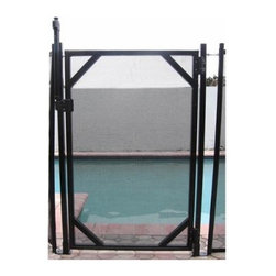 GLI 30 in. Safety Fence Gate for In Ground Pools - The GLI 30 in. Safety Fence Gate for In Ground Pools is an ideal addition to the safety fence. It features true close hinges that are spring-loaded to self close. A Magna-Latch lock to prevent entry by children is included at no extra cost. Gates available in 4- and 5=foot heights and are 30 inches wide.About SplashNet XpressSplashNet Xpress is dedicated to providing consumers with safe, high-quality pool products delivered in a fast and friendly manner. While it's adding new product lines all the time, SplashNet Xpress already handles pool maintenance items, toys and games, cleaning and maintenance devices, solar products, and aboveground pools.