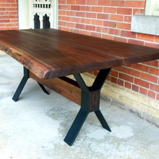 Farmhouse Dining Tables by Living Wood Design